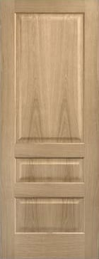 LPD Contempory 3 Panel Oak pre finished door