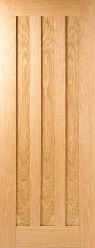 LPD Idaho unfinished oak door