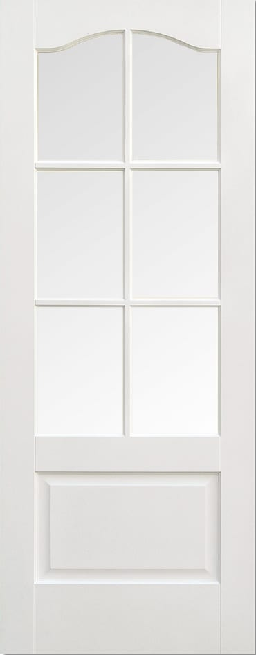 LPD Kent 6 light white primed door