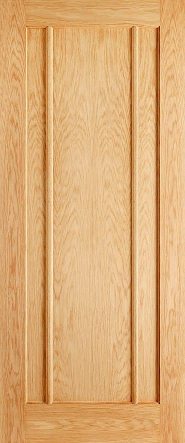 Lincoln oak unfinished door
