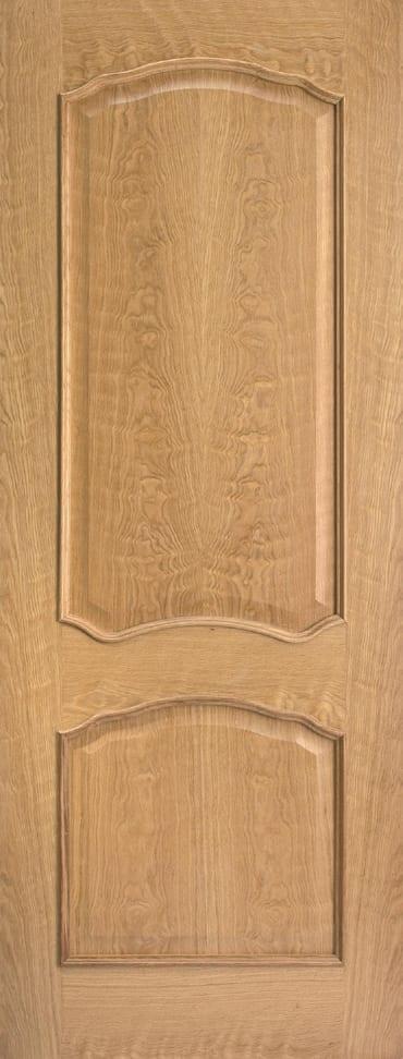 LPD Louis RM2S pre finished oak door