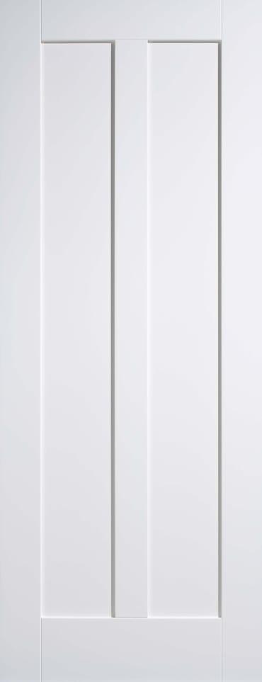 LPD Maine 2 panel white primed door