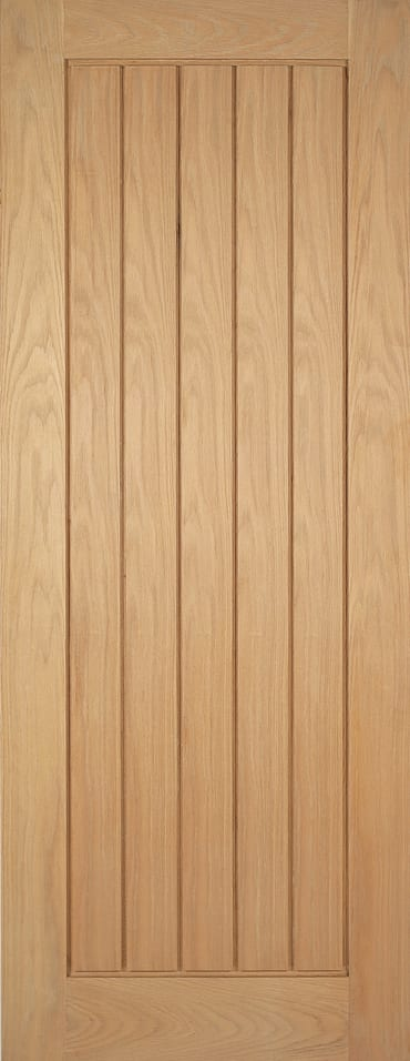 Mexicano oak pre-finished doors