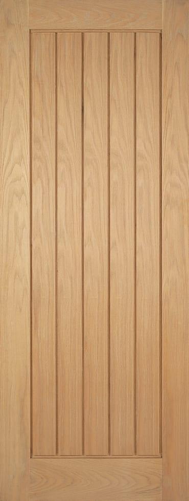 Mexicano unfinished oak doors