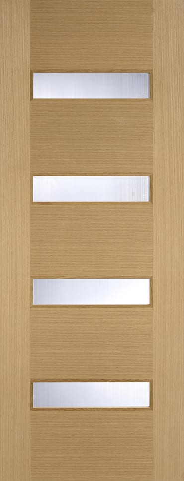 LPD Monaco glazed oak door