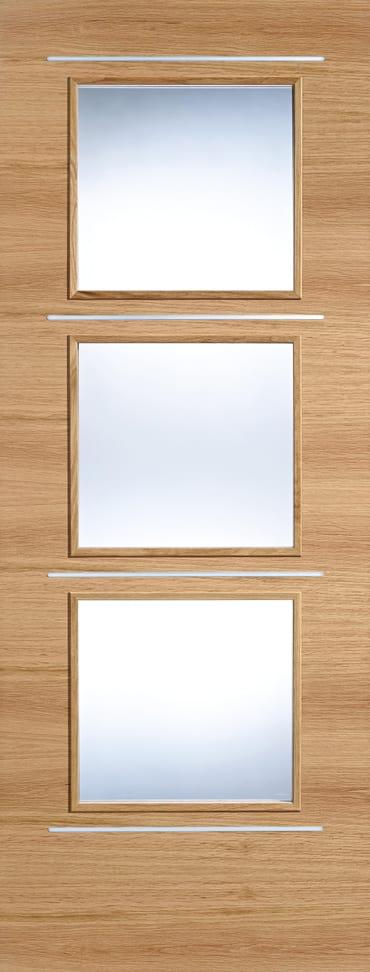 LPD Murcia Glazed Oak Door