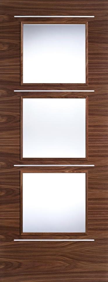 LPD Murcia Glazed Walnut doors