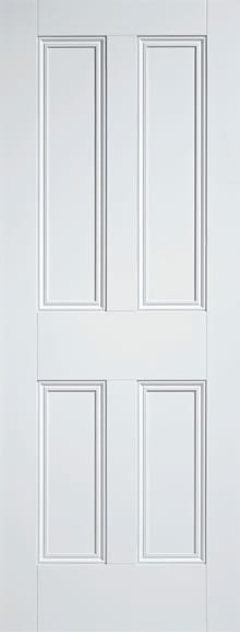LPD Nostalgia 4 Panel white primed door