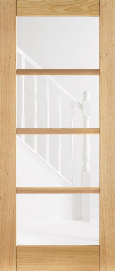 LPD Oslo 4 light Oak door