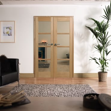 LPD Oslo Oak W4 Room dividers