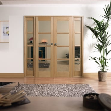 LPD Oslo Oak W6 Room dividers