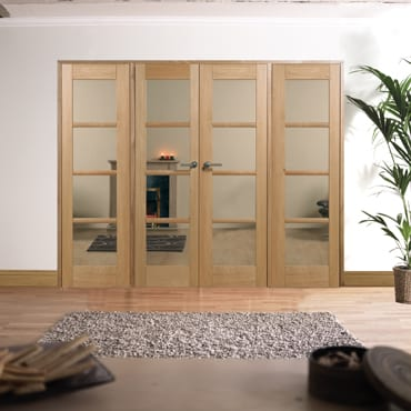 LPD Oslo Oak W8 Room dividers