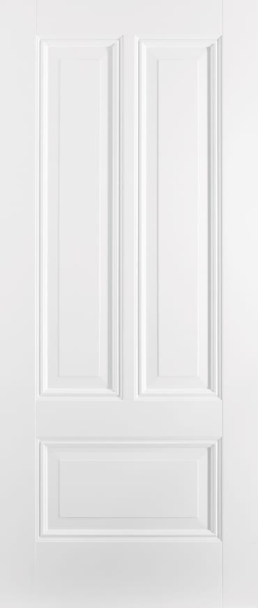 LPD Peony 3 panel white primed door