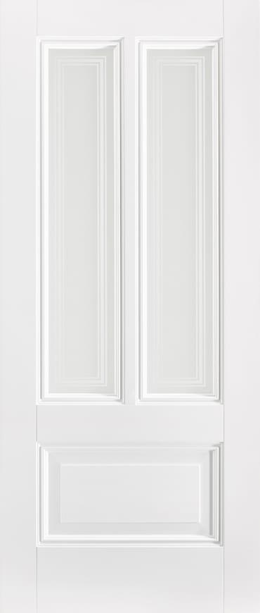 LPD Peony silkscreen white primed door