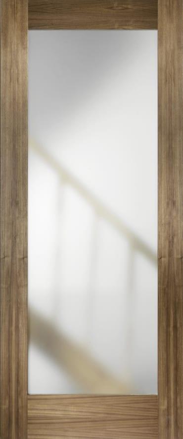 LPD Porto Glazed Walnut Door