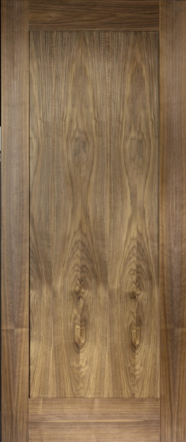 LPD Porto walnut door