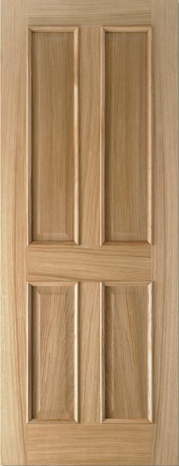 LPD Regency 4 Panel RM2S oak prefinished door