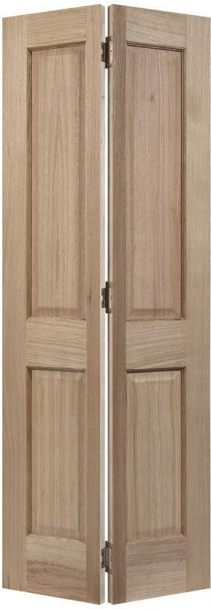 LPD Regency 4p oak bi fold door unfinished