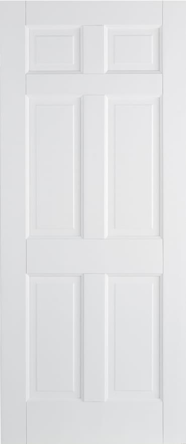 LPD Regency 6 panel white primed door