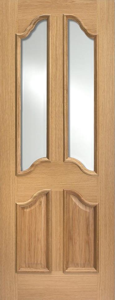 LPD Richelieu RM2S Glazed oak door