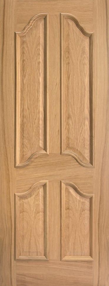 LPD Richelieu RM2S Unfinished Oak Door