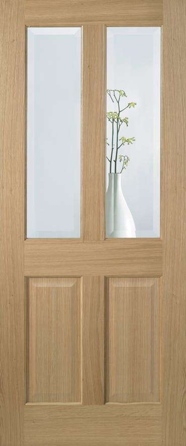 LPD Richmond Clear Bevelled glass door