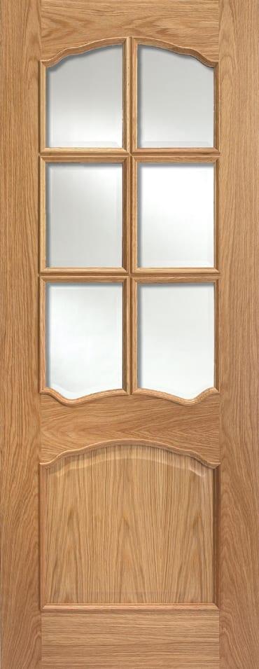 LPD Riviera 6L RM2S oak door