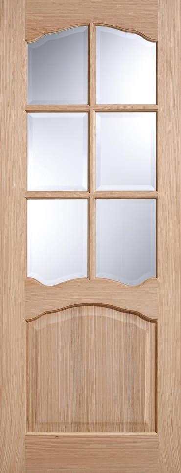 LPD Riviera Glazed oak door