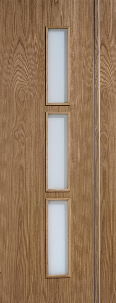 LPD Sierra Glazed Oak Door