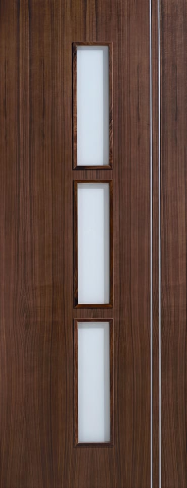 LPD Sierra Glazed walnut door