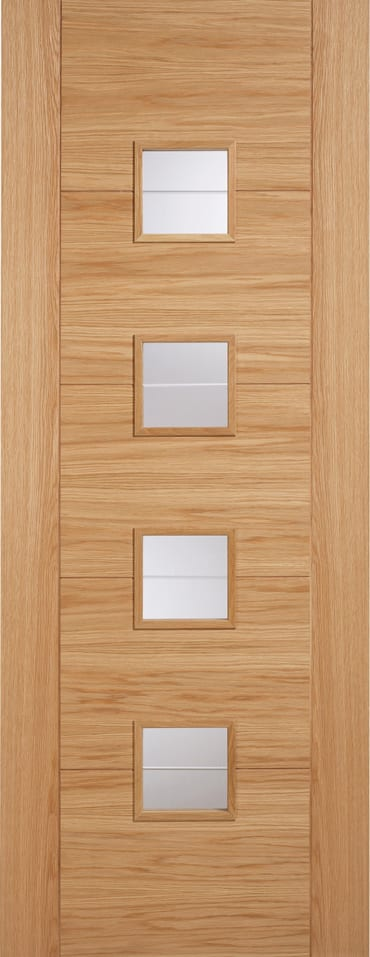LPD Vancouver 4L Glazed Oak Door & LPD Vancouver 4L Glazed Oak Door | Doors Windows Stairs Pezcame.Com