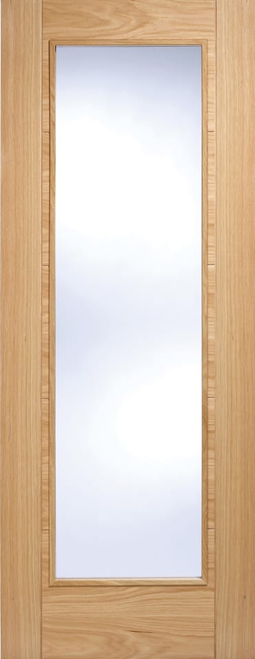 LPD Vancouver Pattern 10 Oak Door Clear glazed & LPD Vancouver Pattern 10 Oak Door Clear glazed | Doors Windows Stairs Pezcame.Com