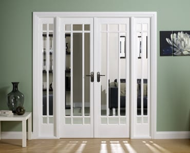 LPD White Manhattan W6 Room dividers
