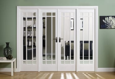 LPD White Manhattan W8 Room dividers
