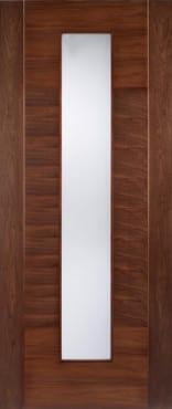 Lpd Aragon Glazed Walnut Door