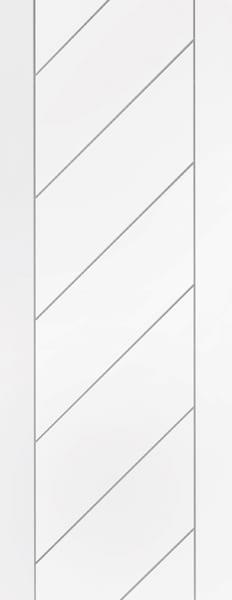 Monza white primed door