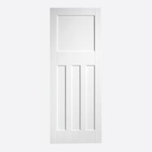 White DX 30S Style Door