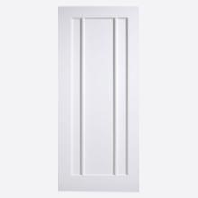 White Lincoln Door
