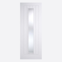 White Mexicano Glazed 1L Door