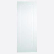 White Shaker 1P Door