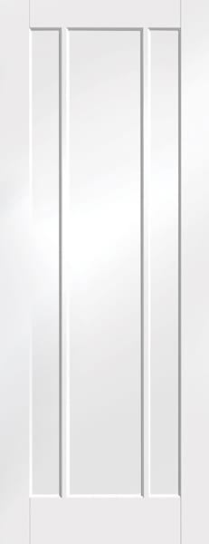 Worcester white primed door