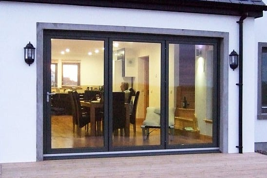 Visofold 1000 3 Door Aluminium Folding Sliding Door