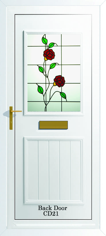 Back Door CD21 upvc door