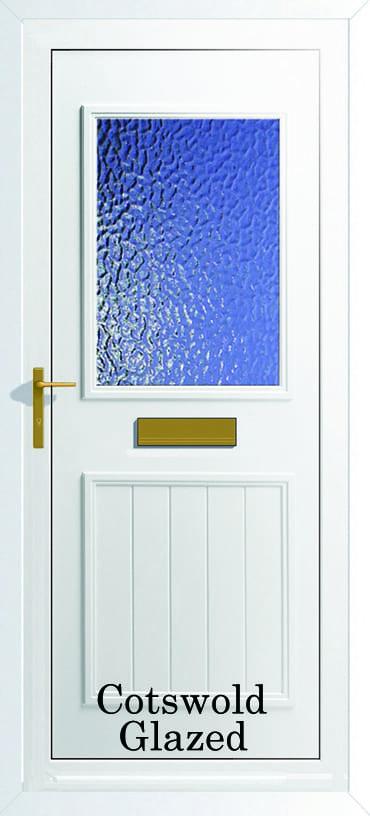 Back Door Glazed upvc door