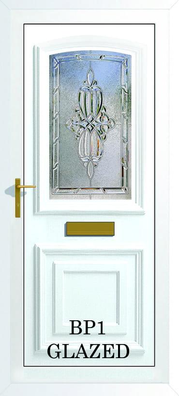 Bordeaux BP1 Glazed upvc door