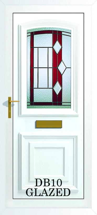 Bordeaux DB10 Glazed upvc door