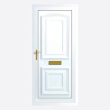 Bordeaux Upvc Entrance Door
