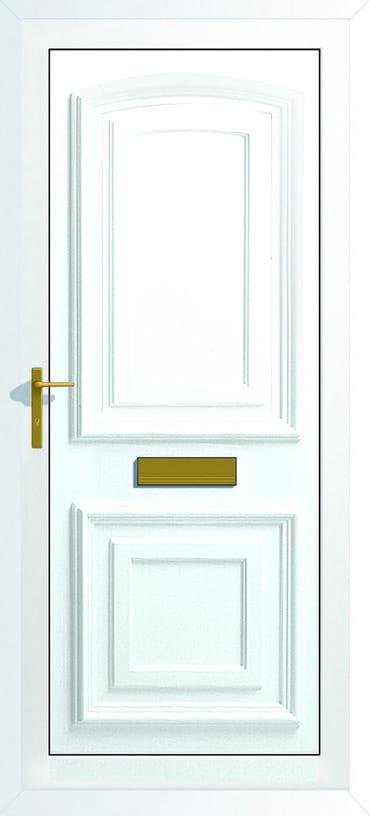 Bordeaux Upvc solid panel door