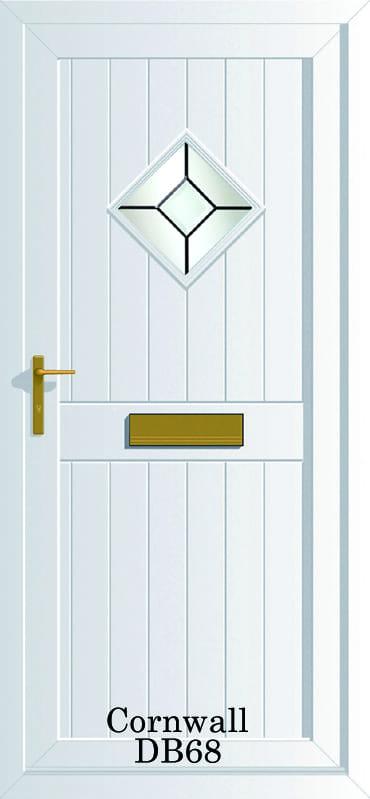 Cornwall DB68 upvc door