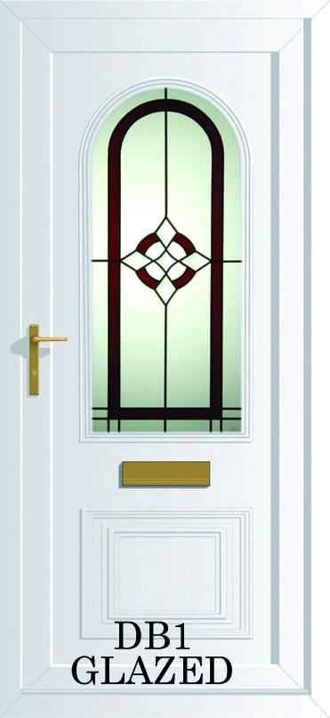 Devon DB1 Glazed upvc door